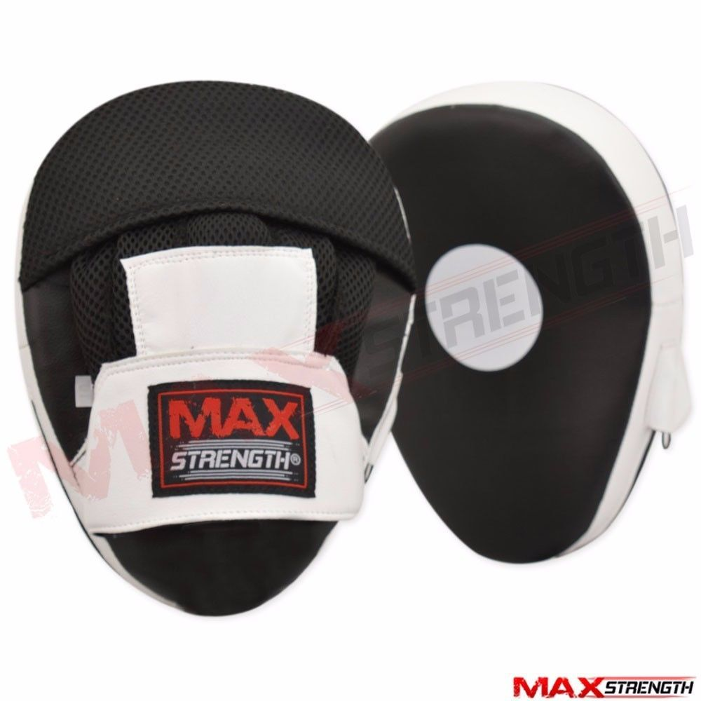 Boxing Gloves Focus Pads Set Gym Training Maxstrength Net